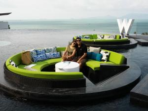 The W Koh Samui - lovely property !